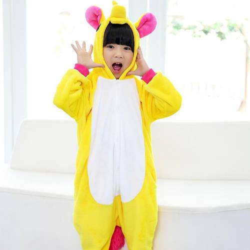 Пижама кигуруми для детей Единорог желтый  купить с доставкой в Киеве 993352078ab6d