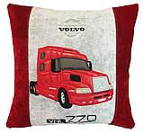 Автомобільна подушка з вишивкою силуету Вашого авто, фото 2