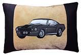 Автомобільна подушка з вишивкою силуету Вашого авто, фото 5