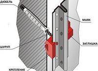 Крепеж для штукатурного маяка (1000шт)