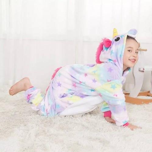 Пижама кигуруми для детей Единорог звездный