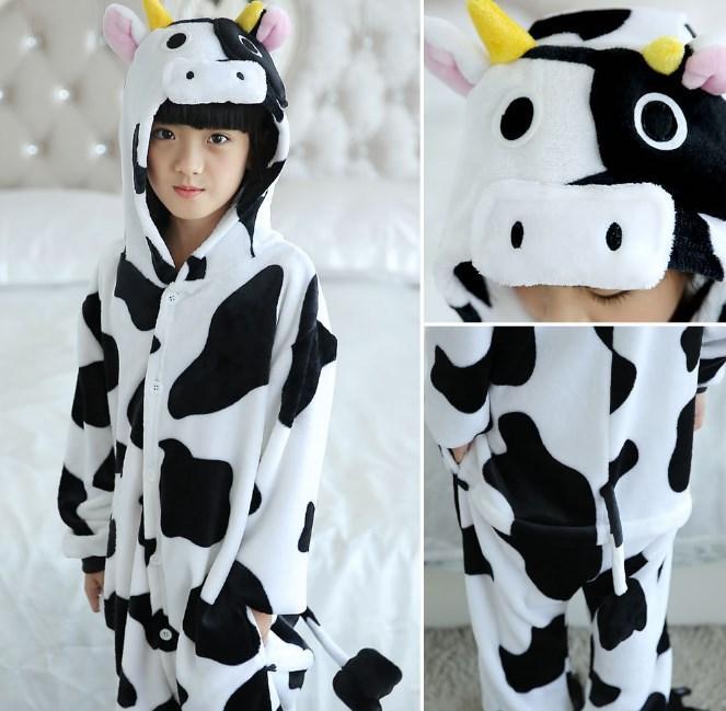Пижама кигуруми для детей Корова