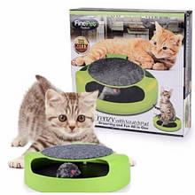 Игрушка для котов с точилкой для когтей Catch The Mouse
