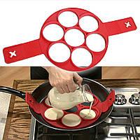 Формочка для яичницы, оладий, омлета Flippin Fantastic Perfect Pancakes.
