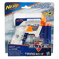 Бластер Нерф Н-Страйк Элит Триад EX-3  Nerf N-Strike Elite Triad EX-3 Hasbro A1690