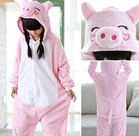 Пижама кигуруми для детей Свинка