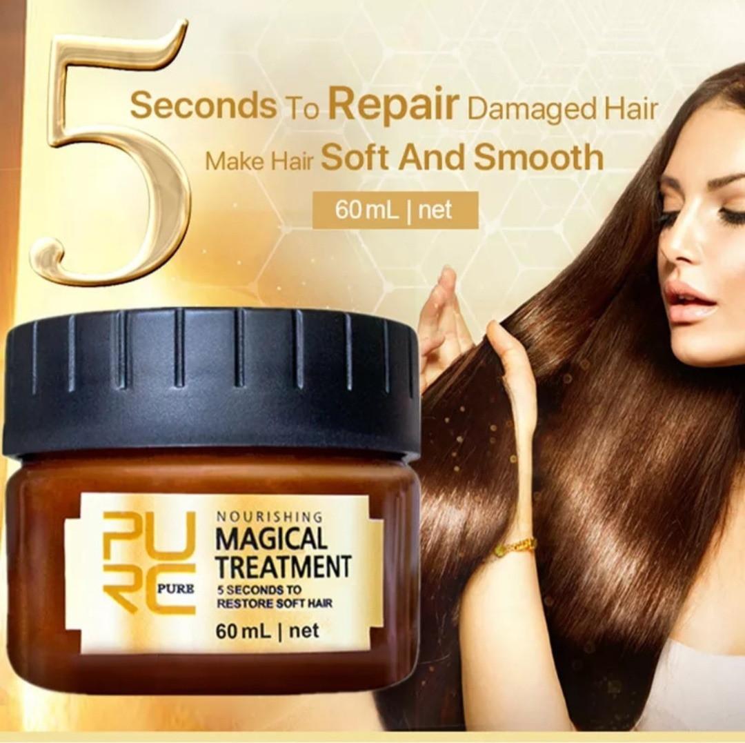 Профессиональная восстанавливающая маска для волос Magical Treatment с аргановым маслом и кератином 60 ml