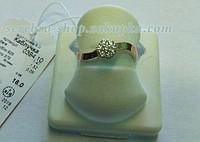 Кольцо серебряное с цирконом г0394