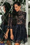 Вечернее  гипюровое платье Размеры: 42 44 46, фото 4