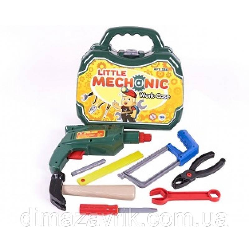 Набор инструментов Маленький механик 386