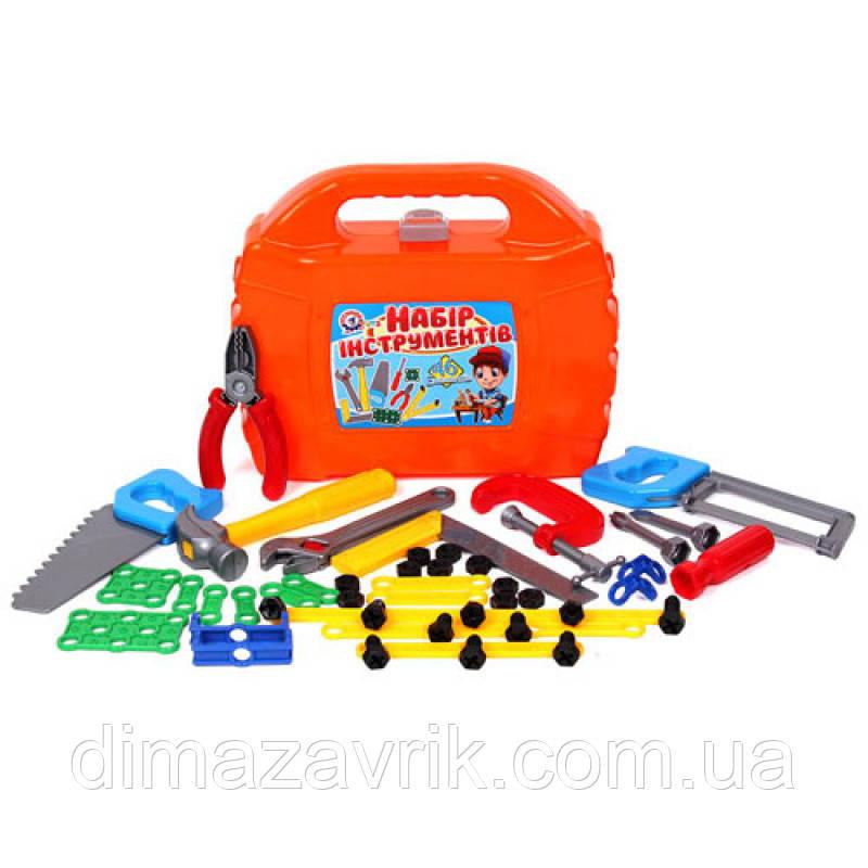 """Игрушка """"Набор инструментов ТехноК"""" 4388 в чемодане 27х22.5х8.5 см"""