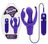 Стимулятор G-точки Sux Butterfly purple Vibrator mit Klitoris- und Anusreizer