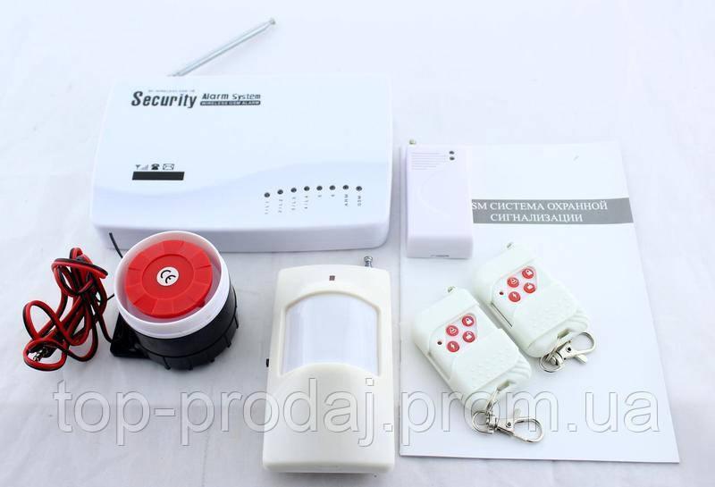 Сигнализация для дома GSM JYX G200, GSM сигнализация с датчиком движения, Комплект сигнализации