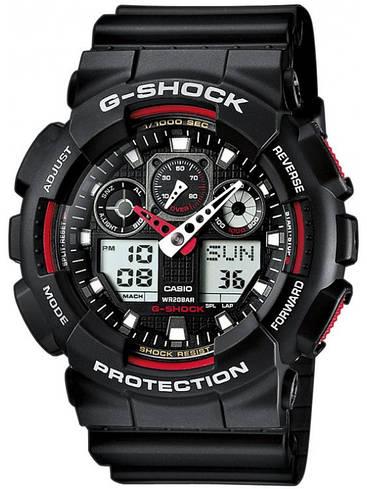 Наручные мужские часы Casio GA-100-1A4ER оригинал