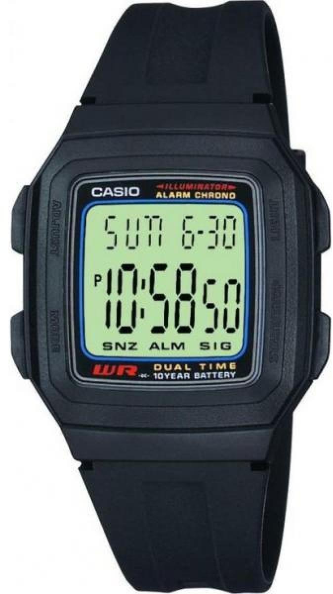 Наручные мужские часы Casio F-201W-1AEF оригинал