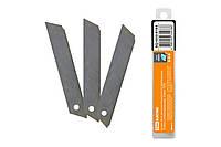 """Лезвия 18 мм, для ножа технического (строительного), 10 штук, сегментированные, """"Алмаз"""" TDM"""