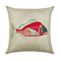 Подушка декоративная Розовая рыбка 45 х 45 см Berni