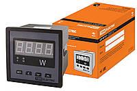 Цифровой ваттметр (однофазный) ЦП-ВТ72/1 0-9999МВт-220В-0,5 TDM
