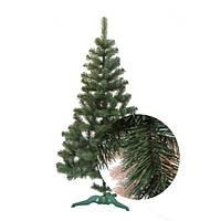 Елка Сказка зеленая с белыми кончиками 0,55 м, ПВХ (ЯШК-БК-0,55)