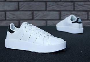 Женские кроссовки Adidas Stan Smith Bold, фото 2