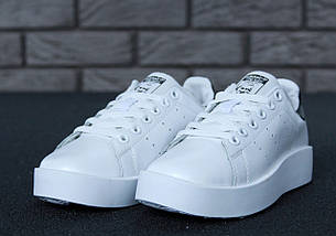 Женские кроссовки Adidas Stan Smith Bold, фото 3