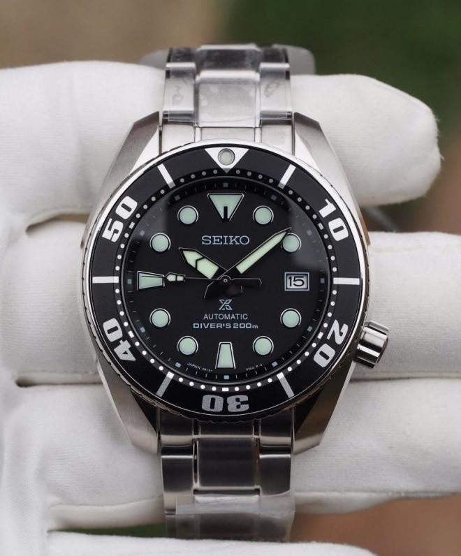 Часы Seiko Prospex SBDC031 Automatic Diver's 6R15 Sumo