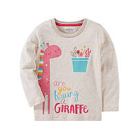 Лонгслив для девочки Жираф Jumping Beans, фото 1