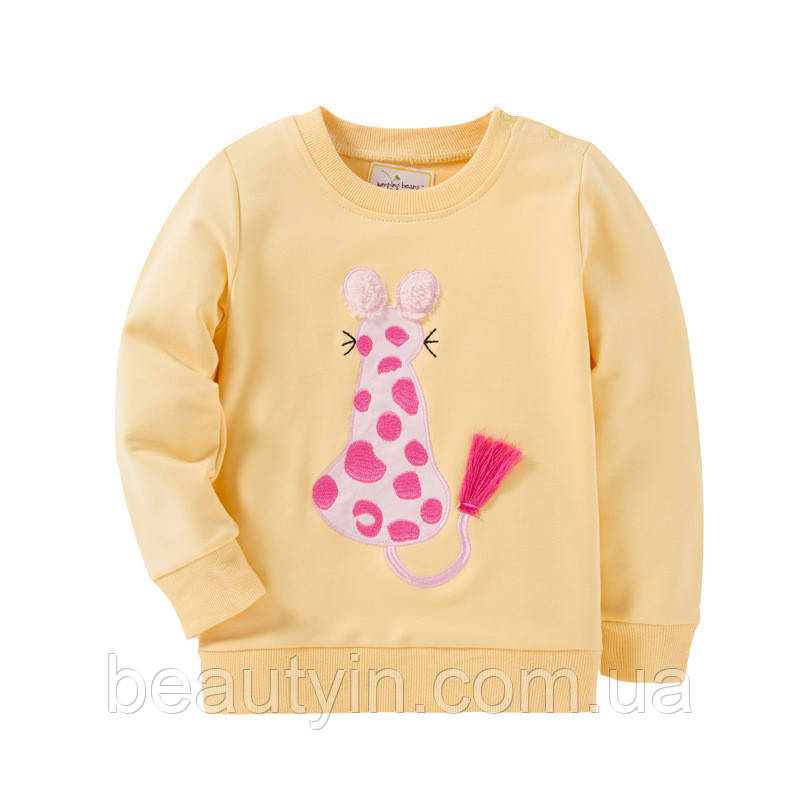 Кофта для девочки Розовый леопард Jumping Beans