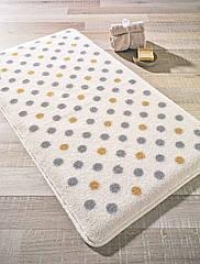 Коврик для ванной Polka Grey Confetti  55 х 57 см