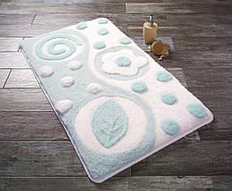 Коврик для ванной Mindos A.Mint Yesil Confetti 55 х 60 см