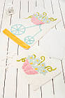 Коврик для ванной Chilai Home Alacati Yellow 60 × 100 см, фото 2
