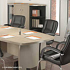 Стол для заседаний П204  Премьер Новый Стиль Дуб нагано, фото 4