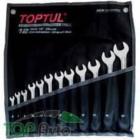 TOPTUL Набор ключей комбинированных 12 шт. 6-22 GPAX1202