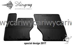 Коврики резиновые в салон Jaguar E-Pace 17- (special design 2017) 2шт. Stingray