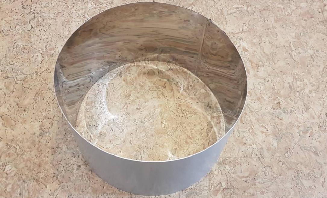 Кольцо для формирования тортов и десертов 20см, высота 10 см