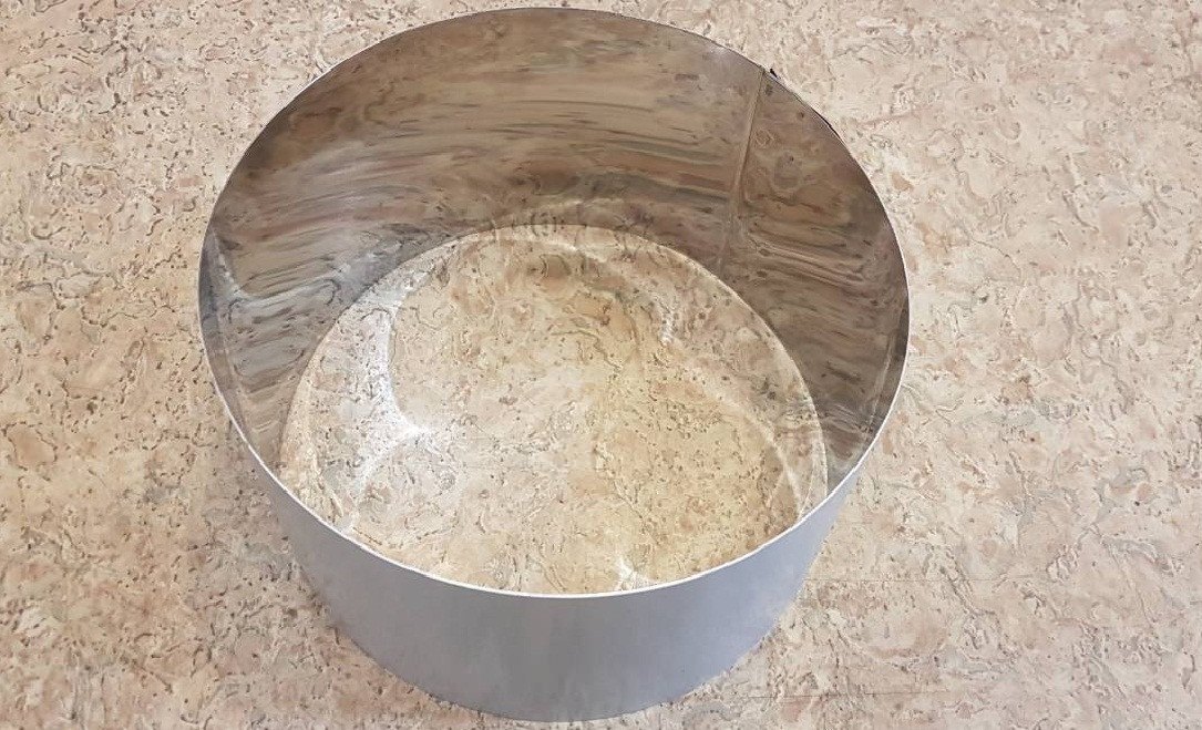 Кольцо для формирования тортов и десертов 26см, высота 10 см