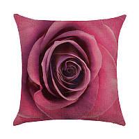 Подушка декоративная Роза 45 х 45 см Berni
