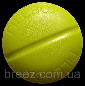 Контейнер для таблеток на 4 отделения зеленый, фото 2