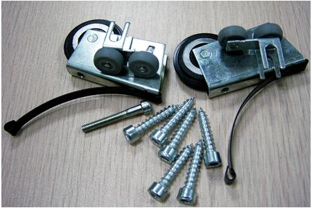 комплект колес для алюминиевой системы