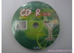 "Kaktuz CD-R 700Mb 80min 52x (bulk 10) ""Lime"" [702007]"