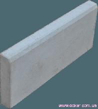 Бордюр литой серый (h-200/b-30/l-500мм)(g-9,5кг)