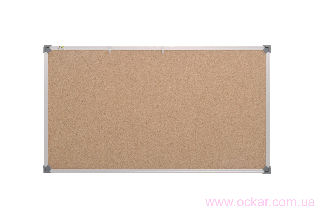 Доска пробковая ABC (90х120) в алюминиевой рамке [abc_139012]