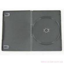 Бокс для DVD 14мм черн. на 1диск (100) [199013]