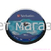 Verbatim CD-R 700Mb 80min 52x (cake 10) extra [197010]