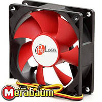 Вентилятор ProLogix 120*120*25 3pin Black/Red(PF-SB120BR3) BOX