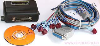 Универсальный микропроцессорный Оптимизатор пропорции топлива 3-х канальный  (2 лямбда и 1 ДМРВ канал) для инжекторных и Common Rail двигателей SD-04.