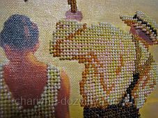 Готовая картина вышитая бисером Рандеву, фото 3