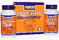 Изи Клинз, Now Foods, Easy Cleanse Kit - A.M.+P.M. 60 Caps+ 60 Caps