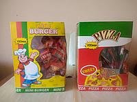 Желейные Хот-Дог, Бургер, Пицца 100 шт в упаковке