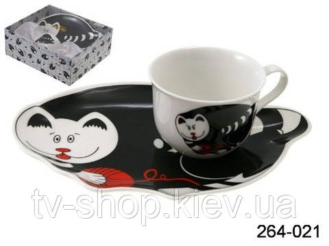 Чайный набор Кот ,Lefard